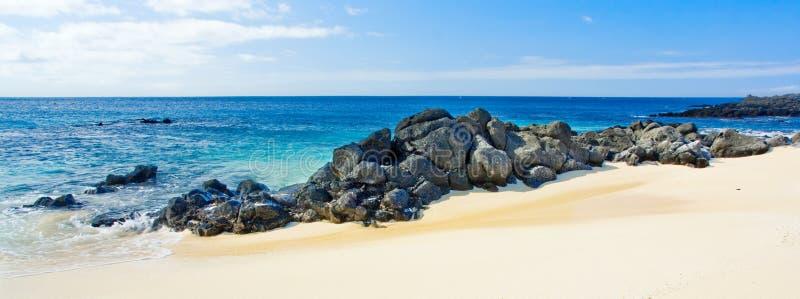 панорама пляжа стоковые фотографии rf