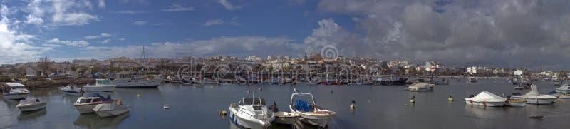 панорама Португалия lagos стоковое изображение