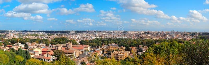 Панорама Рима, Италия стоковые фото