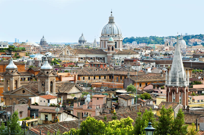 Панорама 3 Рима стоковое фото rf