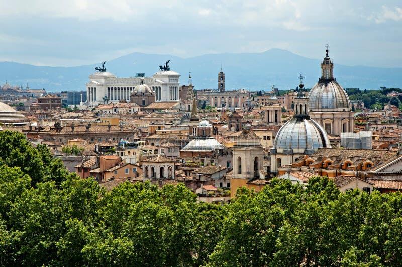 Панорама 5 Рима стоковая фотография rf