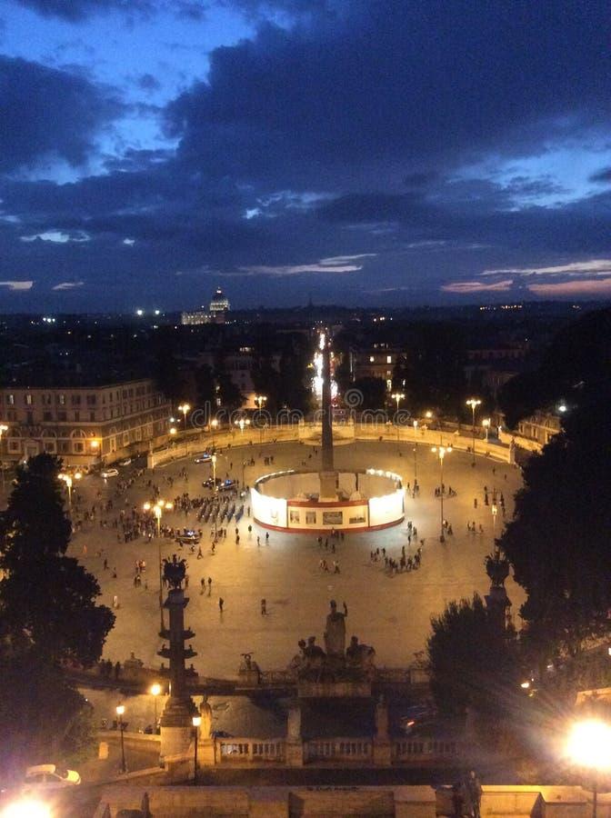 Панорама Рим стоковое фото