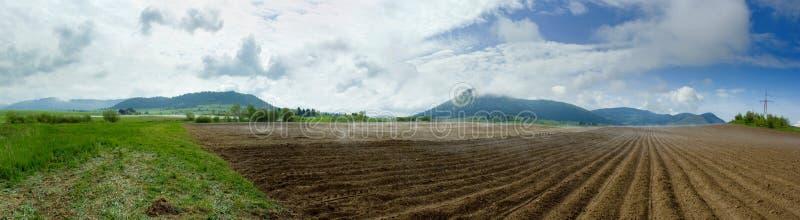 панорама сельская стоковое фото