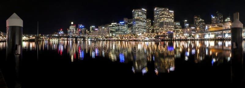 Панорама Сиднея гавани милочки стоковые фотографии rf