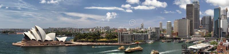 Панорама Сиднея стоковое изображение