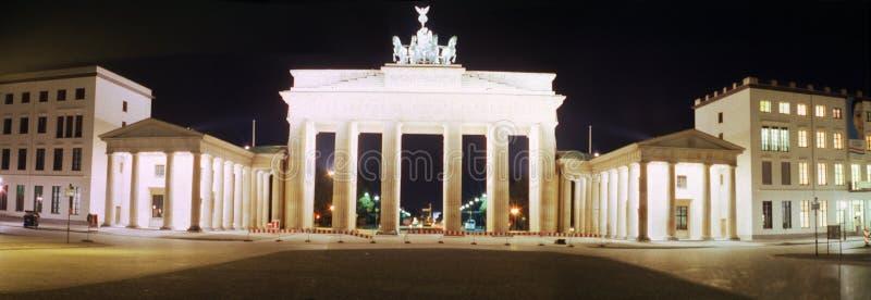 Панорама: Строб Бранденбурга стоковые фото