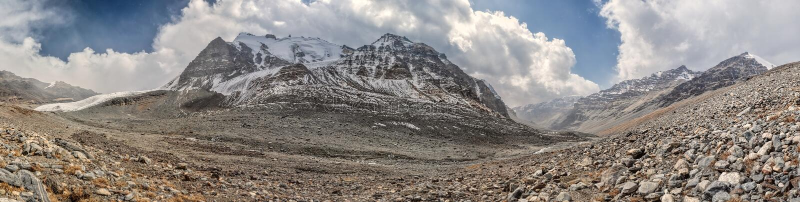 Панорама Таджикистана стоковые изображения