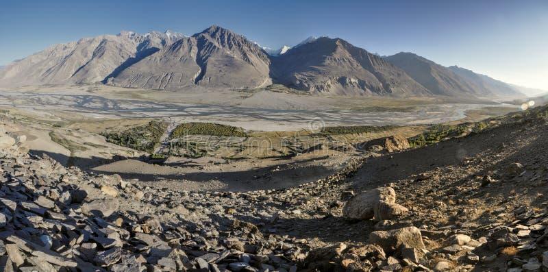 Панорама Таджикистана стоковая фотография