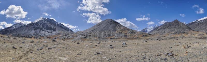 Панорама Таджикистана стоковое изображение