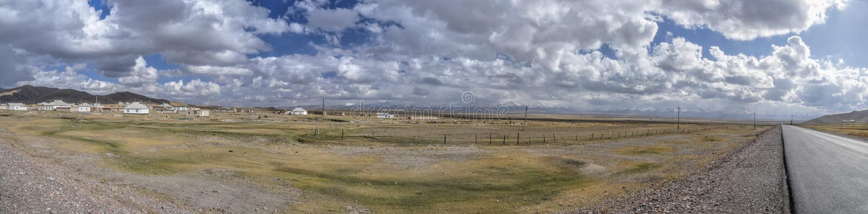 Панорама Таджикистана стоковые фотографии rf