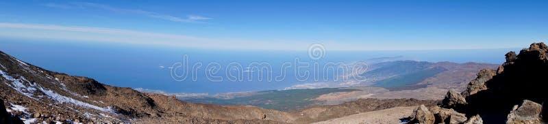 Панорама Тенерифе стоковая фотография