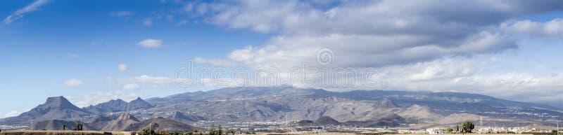 Панорама Тенерифе стоковое фото rf