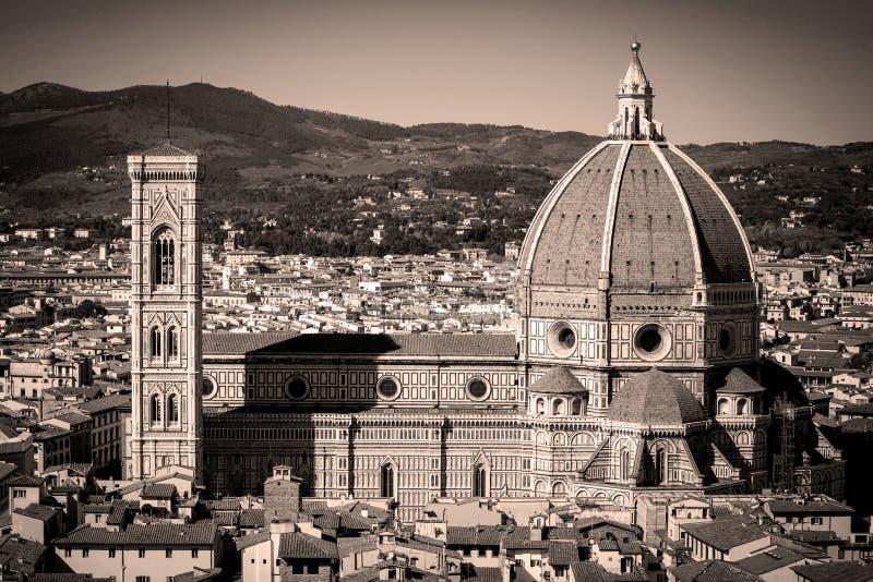Панорама Флоренса в Тоскане, Италии стоковые изображения