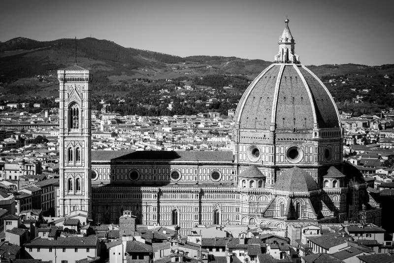 Панорама Флоренса в Тоскане, Италии стоковая фотография rf