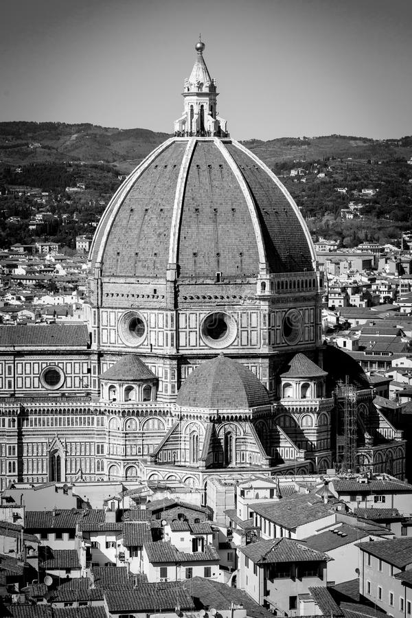 Панорама Флоренса в Тоскане, Италии стоковое фото rf