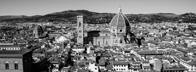 Панорама Флоренса в Тоскане, Италии стоковое изображение rf