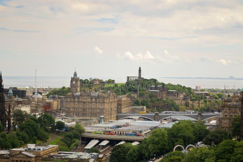 Панорама Эдинбург