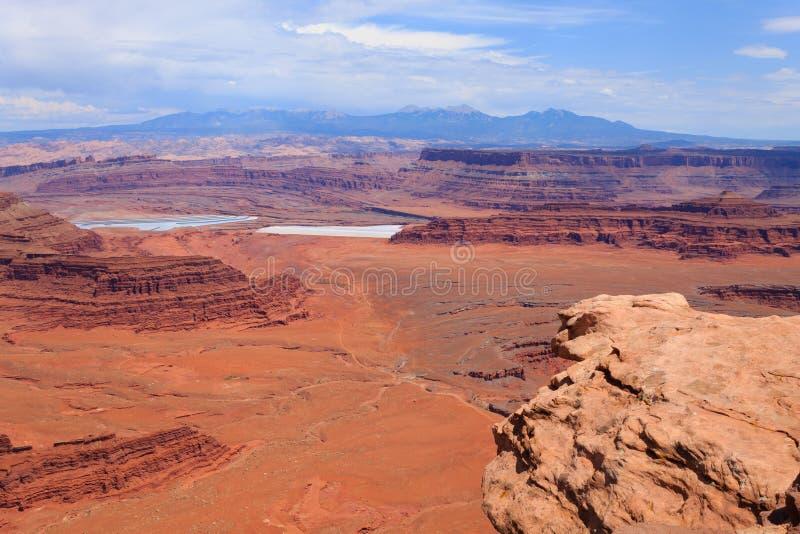 Панорама Юты Каньон Колорадо стоковые изображения