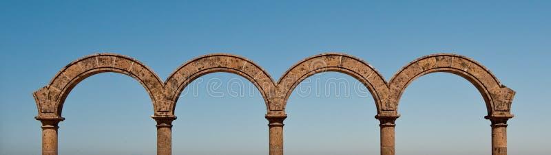 панорама arcos los Мексики стоковое изображение