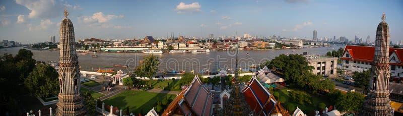 панорама bangkok стоковые изображения rf