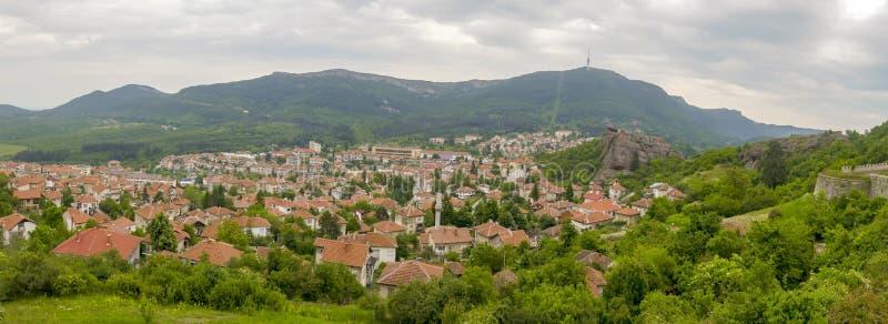 Панорама Belogradchik Сербии стоковое изображение