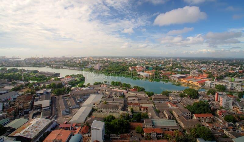 панорама colombo стоковое фото