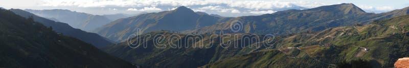 2008 02 04 панорама Colonia Tovar стоковое фото rf