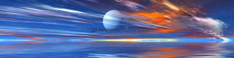 панорама erodia иллюстрация штока
