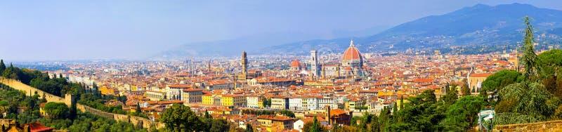 панорама florence стоковое изображение