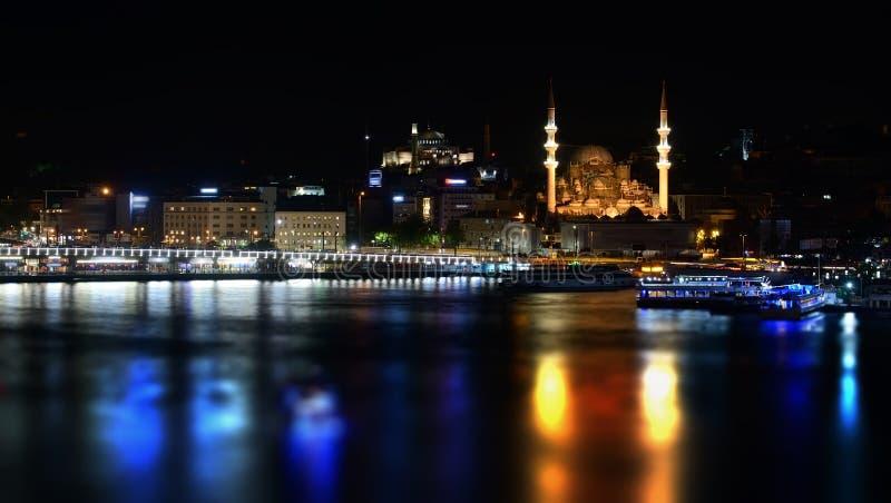 панорама istanbul стоковое фото