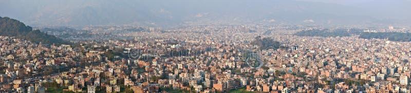 панорама kathmandu стоковое изображение