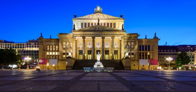 Панорама Konzerthaus, Берлин, Германия стоковое изображение rf