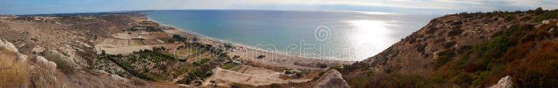 панорама kourion свободного полета стоковые фотографии rf
