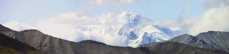 панорама mckinley стоковое изображение
