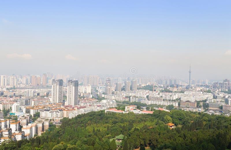 Панорама Mianyang стоковые фотографии rf