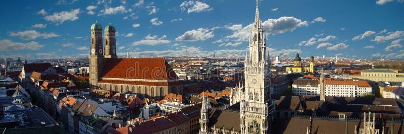 панорама munich стоковая фотография