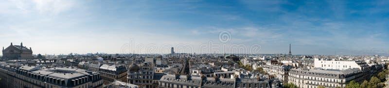 панорама paris стоковое изображение rf