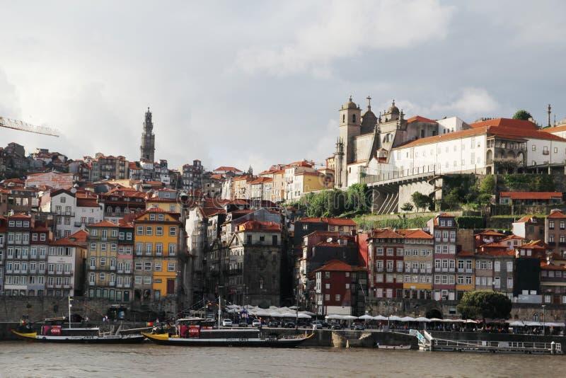 панорама porto Португалия города стоковые фотографии rf