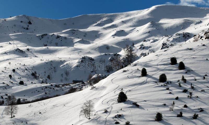 панорама pyrenees стоковое изображение rf