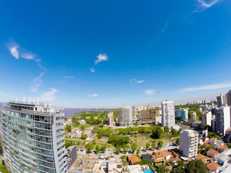 Панорама Vicente Lopez стоковые фотографии rf