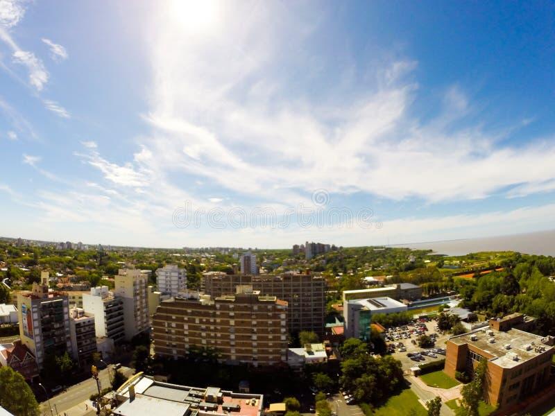 Панорама Vicente Lopez стоковые изображения rf