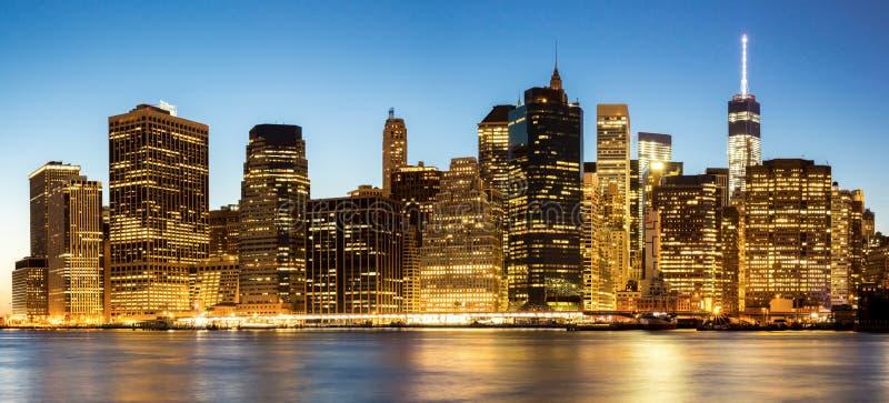 панорама york города новая стоковая фотография