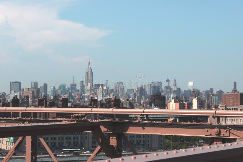 панорама york города новая стоковые фото