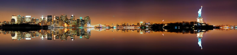 панорама york manhattan города новая стоковое фото rf