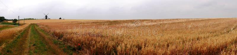 Панорамное фото мельницы Valmy в Argonne стоковая фотография rf