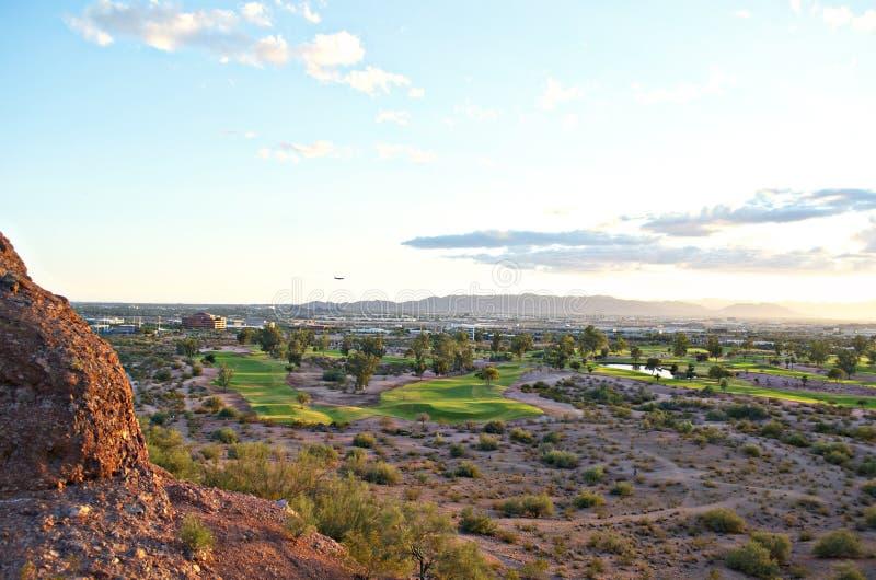 Панорамный взгляд Феникс, AZ стоковые фото