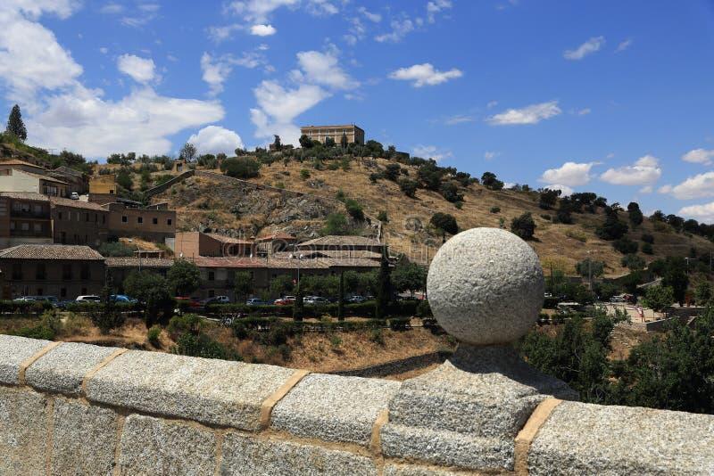 Панорамный взгляд города Toledo, Испании стоковое изображение