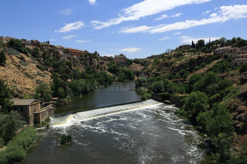 Панорамный взгляд города Toledo, Испании стоковое фото