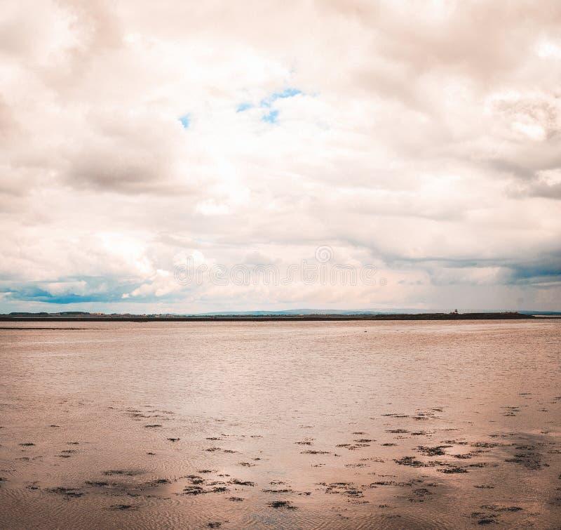 Панорамный взгляд залива Голуэй стоковые изображения