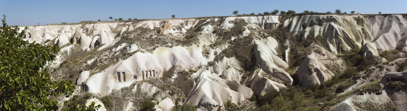 Панорамный взгляд долины голубя стоковое изображение